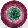 Knitcircus Yarns: Sleigh Ride 100g Panoramic Gradient, Greatest of Ease, ready to ship yarn