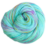 Knitcircus Yarns: We Scare Because We Care 100g Speckled Handpaint skein, Parasol, ready to ship yarn