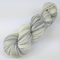 Knitcircus Yarns: Blarney Stone 100g Speckled Handpaint skein, Flying Trapeze, ready to ship yarn