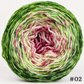 Knitcircus Yarns: Holly and Ivy 100g Impressionist Gradient, Divine, choose your cake, ready to ship yarn