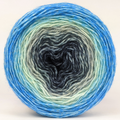 Knitcircus Yarns: April Skies 100g Panoramic Gradient, Breathtaking BFL, ready to ship yarn