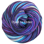 Knitcircus Yarns: Night of a Thousand Stars Handpainted Skeins, dyed to order yarn