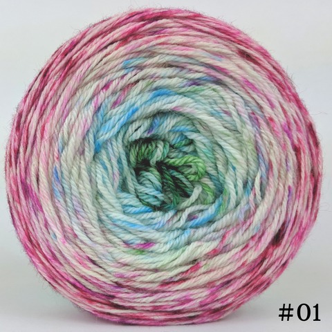 Knit Your Best Life 100g Impressionist Gradient, Opulence, choose your cake, ready to ship
