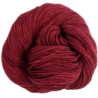Knitcircus Yarns: Cranberry Sauce 100g Kettle-Dyed Semi-Solid skein, Spectacular, ready to ship yarn