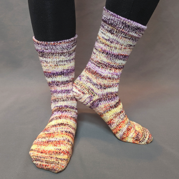 Knitcircus Yarns: Something Wicked Impressionist Matching Socks Set (medium), Greatest of Ease, choose your cakes, ready to ship yarn