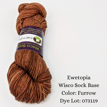 Wisco Sock by Ewetopia, assorted colors, ready to ship