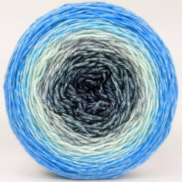 Knitcircus Yarns: April Skies 100g Panoramic Gradient, Flying Trapeze, ready to ship yarn