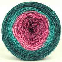 Knitcircus Yarns: As You Wish 100g Panoramic Gradient, Breathtaking BFL, ready to ship - SALE