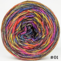 Knitcircus Yarns: Big Top Birthday 100g Abstract, Breathtaking BFL, choose your cake, ready to ship yarn