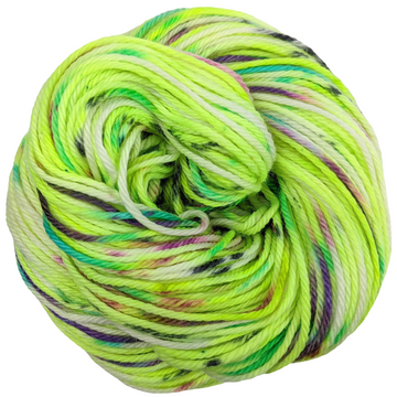 Knitcircus Yarns: High Voltage 100g Speckled Handpaint skein, Ringmaster, ready to ship yarn