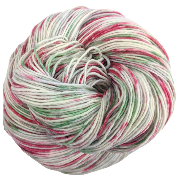 Knitcircus Yarns: Tis the Season 100g Speckled Handpaint skein, Spectacular, ready to ship yarn