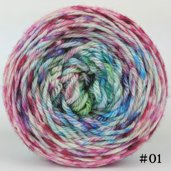 Knitcircus Yarns: Knit Your Best Life 100g Impressionist Gradient, Ringmaster, choose your cake, ready to ship yarn