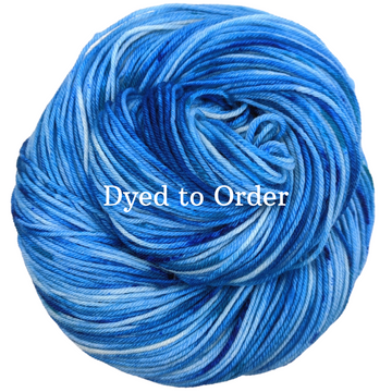 Knitcircus Yarns: West Coast Speckled Handpaint Skeins, dyed to order yarn