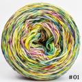 Knitcircus Yarns: Free as a Bird 100g Modernist, Flying Trapeze, choose your cake, ready to ship yarn