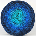Knitcircus Yarns: Under The Sea 150g Chromatic Gradient, Breathtaking BFL, ready to ship yarn