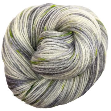Knitcircus Yarns: Blarney Stone 100g Speckled Handpaint skein, Breathtaking BFL, ready to ship yarn