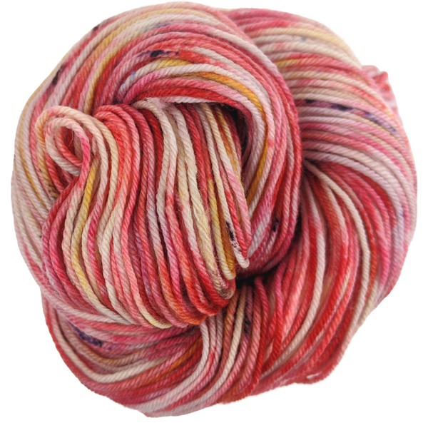 Knitcircus Yarns: Make Like a Tree 100g Speckled Handpaint skein, Divine, ready to ship yarn