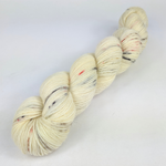 Knitcircus Yarns: Fox in the Henhouse 100g Speckled Handpaint skein, Breathtaking BFL, ready to ship yarn