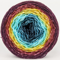 Knitcircus Yarns: Return of the King 100g Panoramic Gradient, Divine, ready to ship yarn