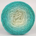 Knitcircus Yarns: Surf's Up 100g Chromatic Gradient, Breathtaking BFL, ready to ship yarn