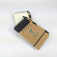 Knitcircus Recyclable Spiral Notebook with Pen, ready to ship