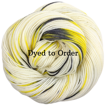 Knitcircus Yarns: Flight of the Bumblebee Speckled Handpaint Skeins, dyed to order yarn