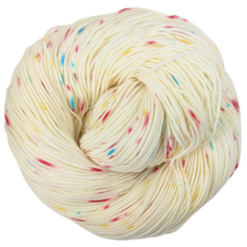 Knitcircus Yarns: Imaginary Best Friend 100g Speckled Handpaint skein, Trampoline, ready to ship yarn