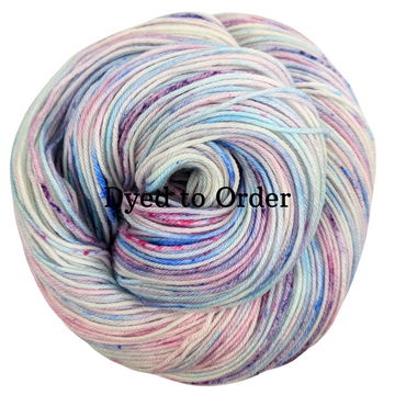 Knitcircus Yarns: Island of Misfit Toys Speckled Handpaint Skeins, dyed to order yarn