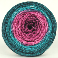 Knitcircus Yarns: As You Wish 100g Panoramic Gradient, Flying Trapeze, ready to ship - SALE