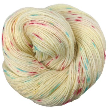 Knitcircus Yarns: Imaginary Best Friend 100g Speckled Handpaint skein, Breathtaking BFL, ready to ship yarn