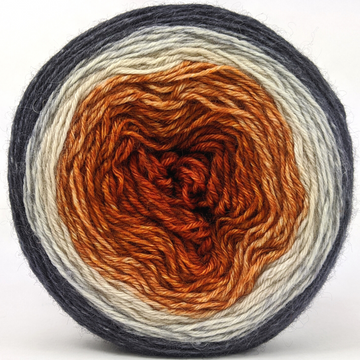 Knitcircus Yarns: Sleepy Hollow 100g Panoramic Gradient, Breathtaking BFL, ready to ship yarn