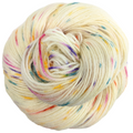 Knitcircus Yarns: Welcome to the Good Place 100g Speckled Handpaint skein, Breathtaking BFL, ready to ship yarn