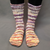 Knitcircus Yarns: Something Wicked Impressionist Gradient Matching Socks Set, dyed to order yarn