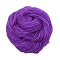 Knitcircus Yarns: Glitter Cannon 50g Kettle-Dyed Semi-Solid skein, Trampoline, ready to ship yarn