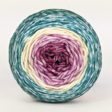 Knitcircus Yarns: Jingle Bells 50g Panoramic Gradient, Greatest of Ease, ready to ship yarn
