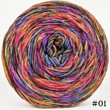 Knitcircus Yarns: Big Top Birthday 100g Abstract, Flying Trapeze, choose your cake, ready to ship yarn