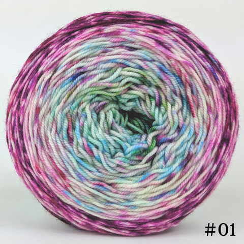 Knit Your Best Life 100g Impressionist Gradient, Trampoline, choose your cake, ready to ship