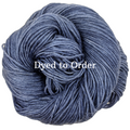 Knitcircus Yarns: Cornflower Kettle-Dyed Semi-Solid skeins, dyed to order yarn