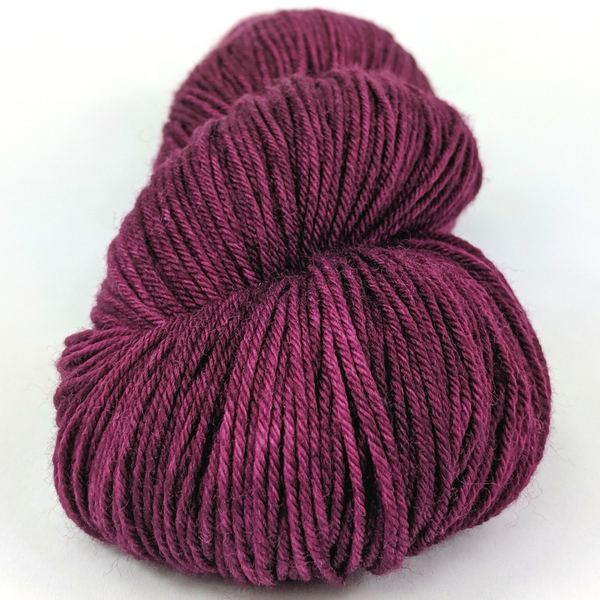 Knitcircus Yarns: Devil's Doorway 100g Kettle-Dyed Semi-Solid skein, Greatest of Ease, ready to ship yarn