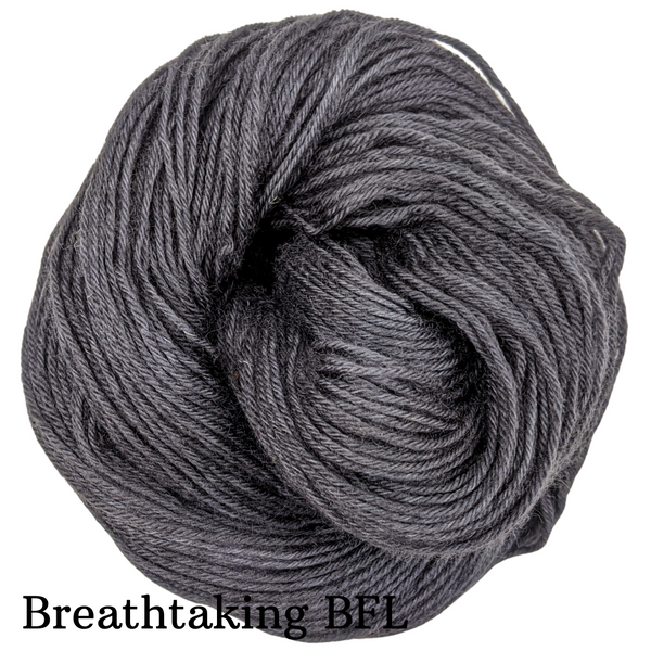 Knitcircus Yarns: Fade to Black Kettle-Dyed Semi-Solid skeins, dyed to order yarn