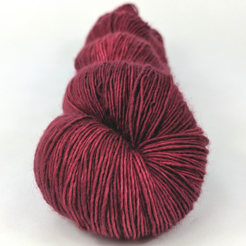 Cranberry Sauce 100g Kettle-Dyed Semi-Solid skein, Spectacular, ready to ship