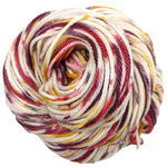 Knitcircus Yarns: Leaf Pile Leap 100g Speckled Handpaint skein, Ringmaster, ready to ship yarn