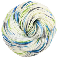 Knitcircus Yarns: Growing Like A Weed 100g Speckled Handpaint skein, Divine, ready to ship yarn