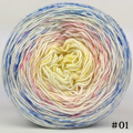 Knitcircus Yarns: Bundle of Joy 150g Impressionist Gradient, Greatest of Ease, choose your cake, ready to ship yarn