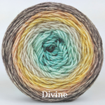 Knitcircus Yarns: Home on the Range Panoramic Gradient, dyed to order yarn