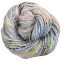 Knitcircus Yarns: Cotton Candy Explosion 100g Speckled Handpaint skein, Breathtaking BFL, ready to ship yarn - SALE