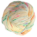 Knitcircus Yarns: Hip Hip Hooray 100g Speckled Handpaint skein, Trampoline, ready to ship yarn