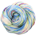 Knitcircus Yarns: Shabby Chic 100g Speckled Handpaint skein, Ringmaster, ready to ship yarn