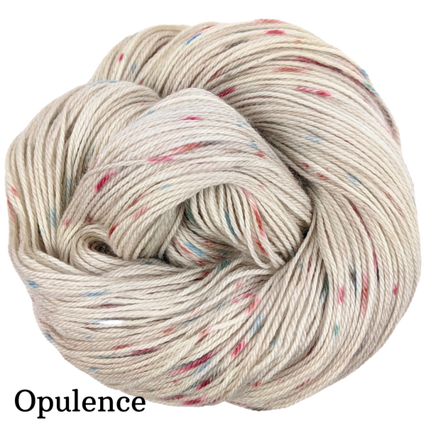 Knitcircus Yarns: Sagebrush Cowgirl Speckled Handpaint Skeins, dyed to order yarn