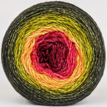 Knitcircus Yarns: Unbeleafable 150g Panoramic Gradient, Breathtaking BFL, ready to ship yarn